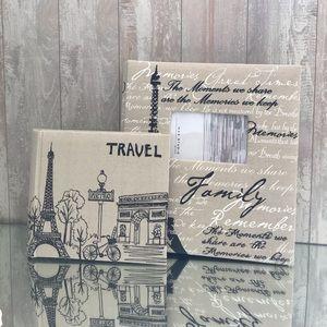 "Photo 2 Album's Set ""Family Travel"""
